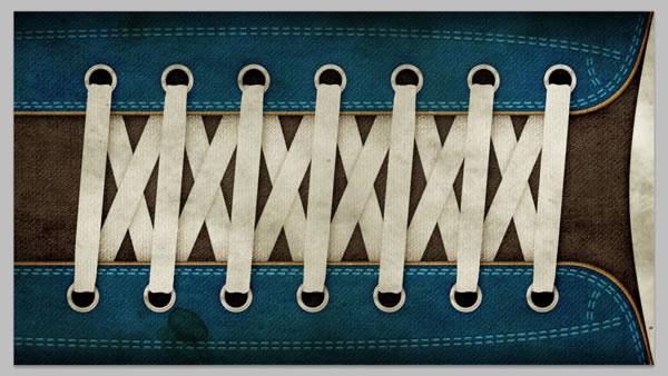 Tie Lace Up Shoes Double