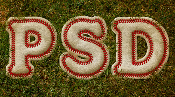 Link toCreate a baseball-inspired text effect in photoshop