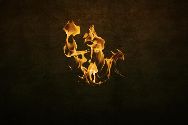 Font that looks like fire