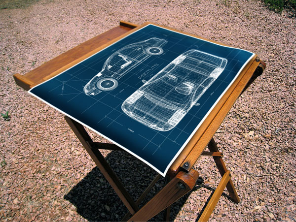 Create a realistic blueprint image from a 3d object in this tutorial well create a a quick mock up of a 3d car blueprint then well place it on an image of a drafting table malvernweather Images