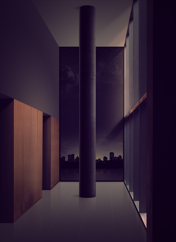 future realism indoor photoshop tutorial