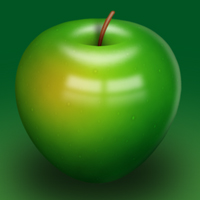 Preview for How to Create a Delicious Green Apple Illustration