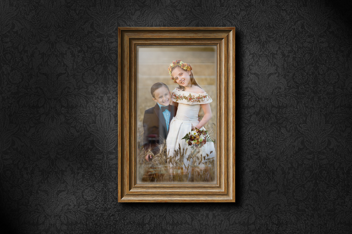 How to illustrate a wooden frame on a wall scene larger version here baditri Images