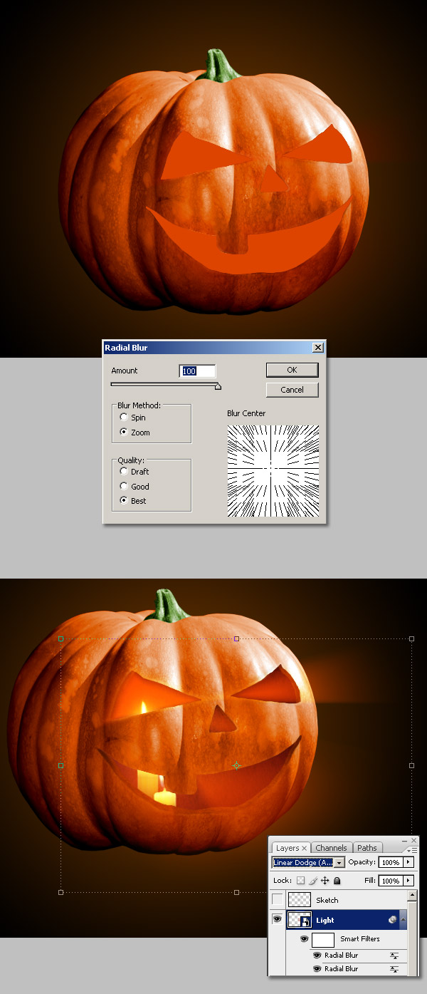 10 Scary Halloween Photo Effects & Horror Photoshop Filter
