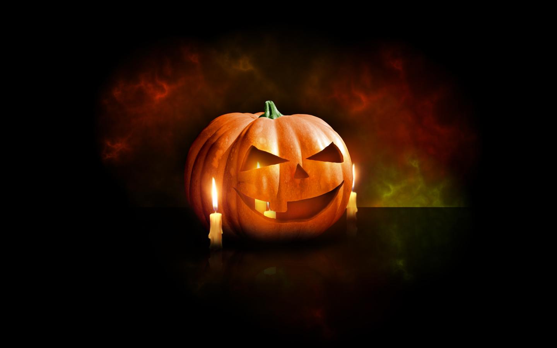 Design A Halloween Pumpkin Wallpaper In Photoshop