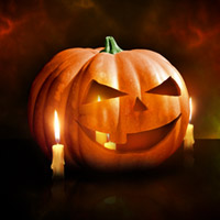 Preview for Design a Halloween Pumpkin Wallpaper in Photoshop