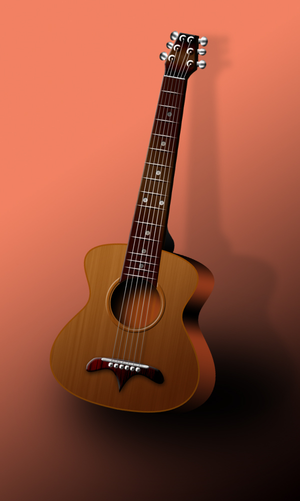 How To Create A Classic Guitar From Scratch In Photoshop