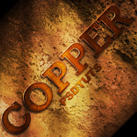 Preview for How to Create a Copper Photoshop Text Effect