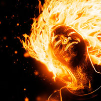 Preview for How to Create a Flaming Photo Manipulation