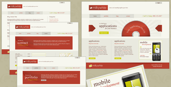 30 brilliantly flexible templates wp themes via themeforest milkywhite xhtmlcss toneelgroepblik Image collections