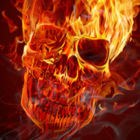 Preview for How to Create a Hellacious Flaming Skull in Photoshop