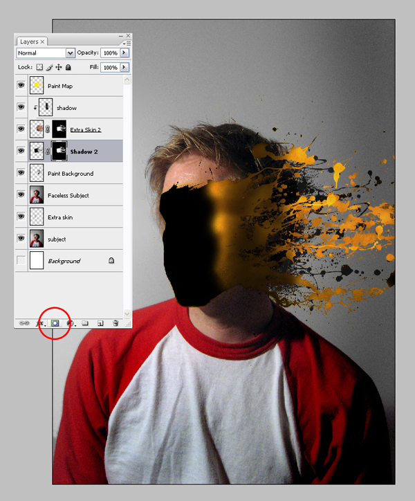 Tutorial de Photoshop: salpicadura de pintura