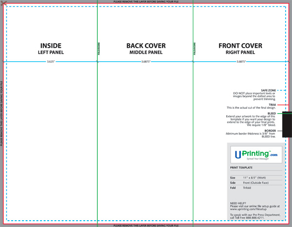 brochure template photoshop - create and print a brochure with photoshop indesign and