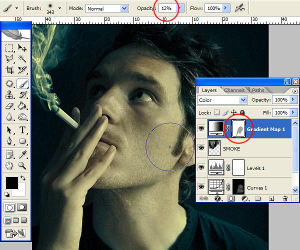 Manipulación de imágenes: Efecto humo con Photoshop