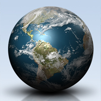 Preview for Create a Shiny Earth with Photoshop 3D Layers