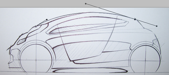 How To Create A Side View Concept Car