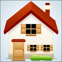 Preview for How to Create a Basic House Icon in Photoshop