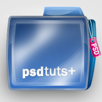 Preview for Create a Shiny Psdtuts+ Folder Icon in Photoshop