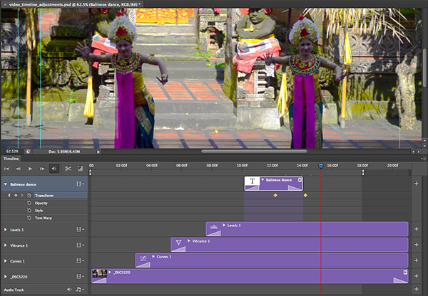 Link toHow to use the new timeline panel in photoshop cs6