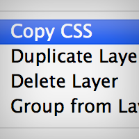 Preview for Quickly Convert Objects to CSS Using Photoshop CS6.1