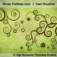 Preview for Swirl Brushes