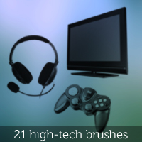 Preview for Hi-Tech Brush Set