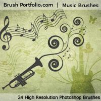 Preview for Music Brushes