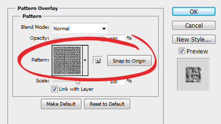 How to Apply Pattern Overlays Using Photoshop Layer Styles