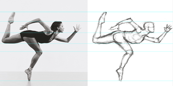 Sketching the Human Form in Photoshop