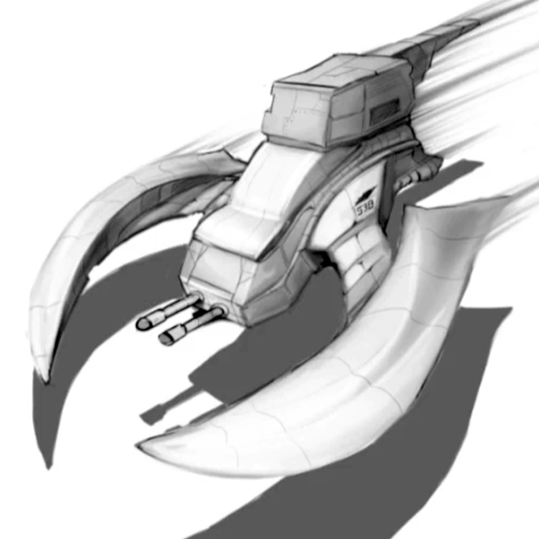 Link toSketch a spaceship in perspective with photoshop