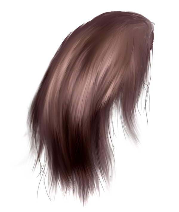 Link toPaint realistic hair using photoshop