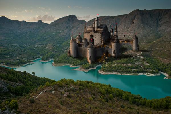 Paint a Castle in Photoshop - Part 1