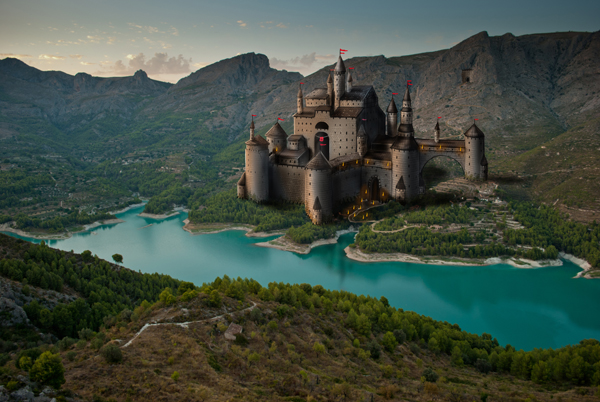 Link toPaint a castle in photoshop - part 1