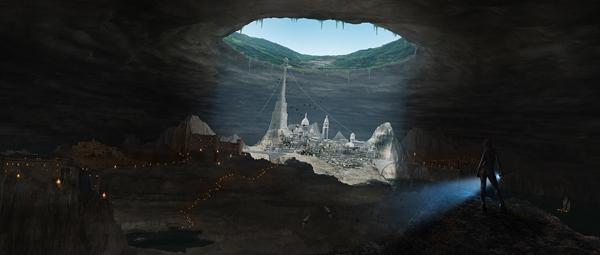Link toCreate an underground city in photoshop - psd premium tutorial