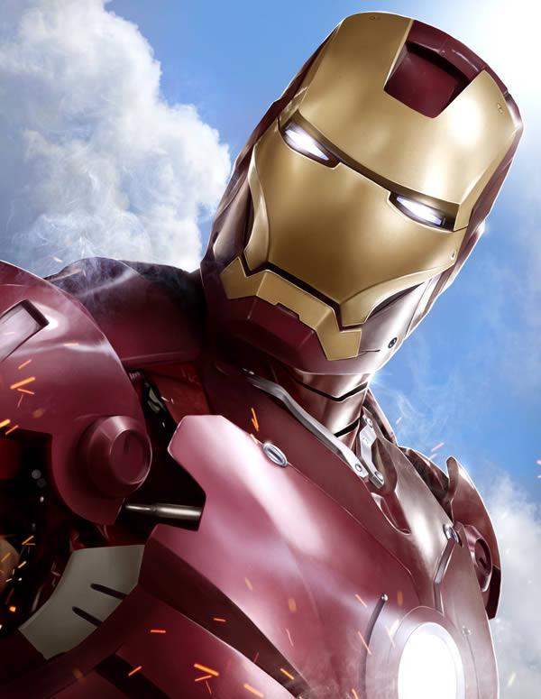 "Create stunning ""iron man"" fan art from scratch in photoshop – tuts+ premium tutorial"