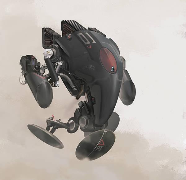 Link toCreate a futuristic combat robot in photoshop - tuts+ premium tutorial