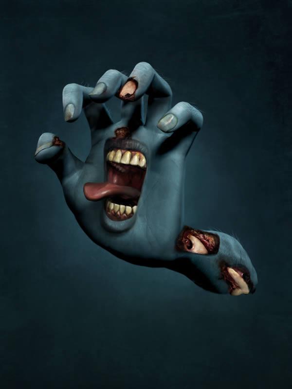 Link toUse poser and photoshop to create the santa cruz screaming hand - tuts+ premium tutorial