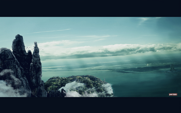 Create a scenic matte painting in photoshop – psd premium tutorial