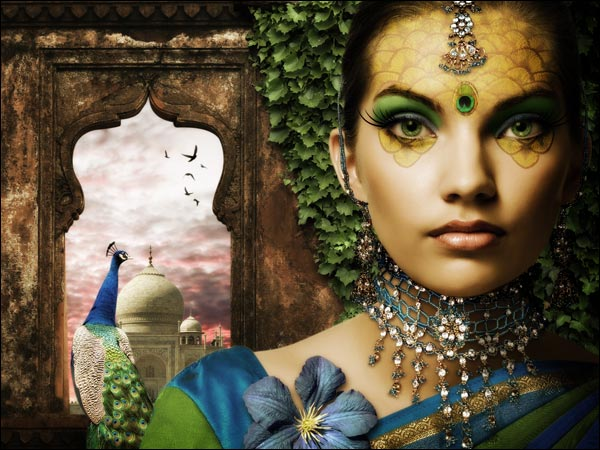 Link toCreate a fantasy peacock princess composition - psd premium tutorial