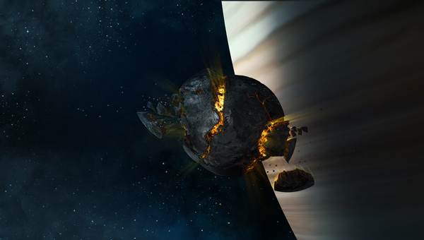 Link toCreate an exploding moon orbiting a gas giant in photoshop - psd premium tutorial