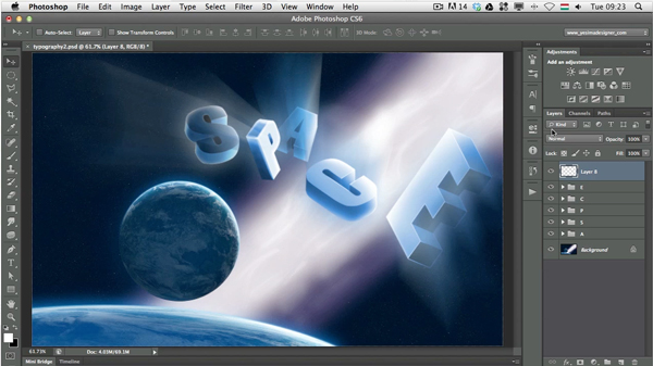 Link toKnowing photoshop's interface