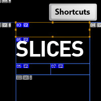 how to clear slices photoshop