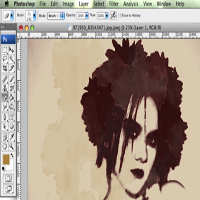 Preview for How to Create a Grunge Style Illustration with Stains - Screencast