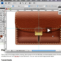 324 leather briefcase