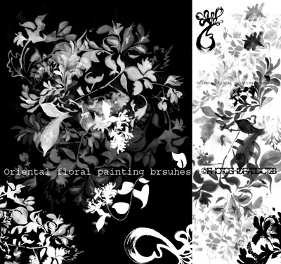 Massive Collection of Over 1,000 Floral Photoshop Brushes