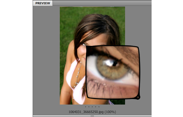 Super handy photoshop cs4 gpu features unraveled simply click anywhere on the preview of the image to enable the loupe tool you can later zoom in or out inside of the loupe tool which is very cool ccuart Image collections