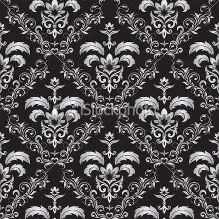 Seamless Gothic Ornament 1 Pattern