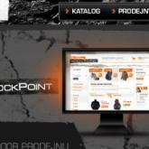 Rock Textured Website