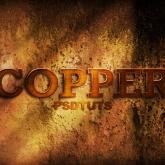 Copper Text