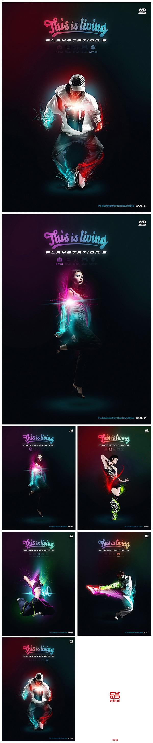 40 Brilliantly Photoshopped Print Ads